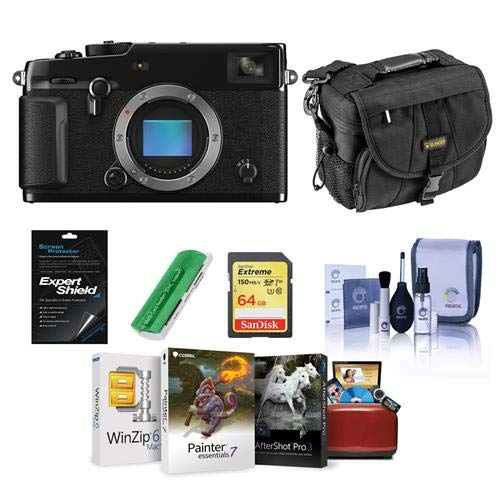 Buy Bargain Fujifilm X-Pro3 Mirrorless Digital Camera, Black - Bundle with Camera Bag, 64GB Memory S...
