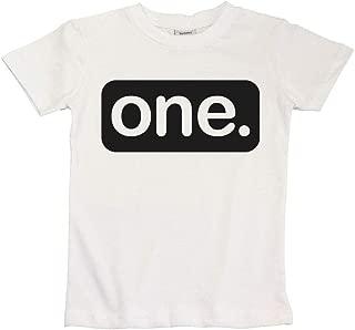 1 birthday shirt