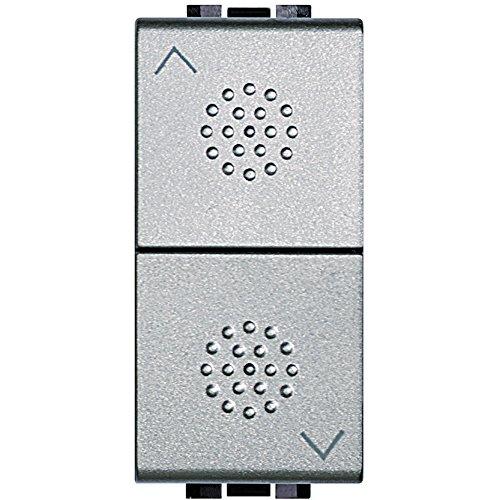 Bticino SNT4027NF Livinglight Tech Commutatore a 2 Tasti