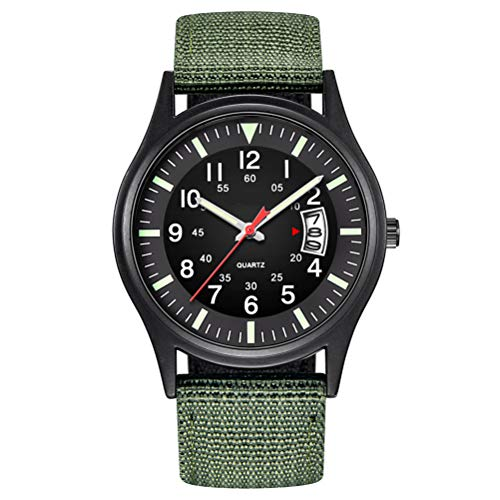 Macabolo Men's Army Tactical Field Sport Analogue Watches Work Watch...