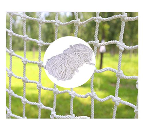 Party Decoration Net Protection Fence Child Safety Net, Decoration Net White Decor Net Woven Rope, Truck Cargo Trailer Netting Net Mesh Nets, Rail Balcony Banister Stair Playground Climbing Children P