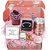 Birthday Gifts Box for Women   6 Premium Special & Unique Gifts for Mom Daughter Sister Best Friend Wife Grandma Coworker   Surprise Basket for Her Female Filled with Funny Wine Gift Ideas