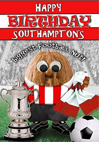 Birthday Card – Southampton FC - Football Sports Nut