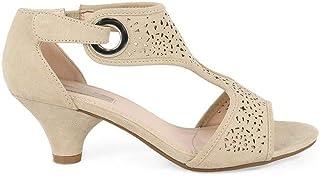 eaf538ec Amazon.es: Zapatos Mujer Fiesta Tacon Medio - Calzados Benavente ...