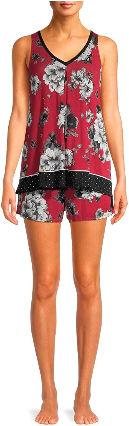 Women's and 55% OFF Some reservation Plus Modern Pajama Tank Shorts Set