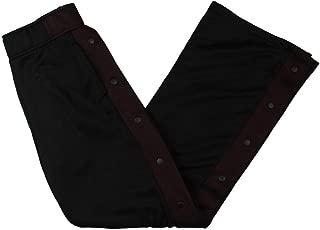 Womens Colorblock Casual Wide Leg Pants