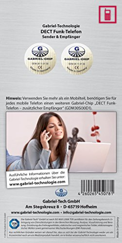 """Gabriel-Chip """"DECT Funk-Telefon (Sender & Empfänger)"""""""