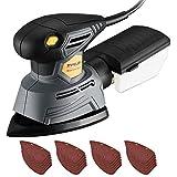 TOPELEK Detail Sander, 24Pcs Sandpapers, 14000 RPM 130W Mouse Sanders...