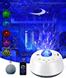 Galaxy Projector,Star Projector Night Light for Bedroom,Ocean Wave Projector Works with Alexa & Smart App,Starry Night Light for LED Nebula Cloud & Moon Sky Light Projector for Baby Kids Adult Party