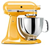 KitchenAid KSM150PSBF Artisan 5-Quart Stand Mixer,...