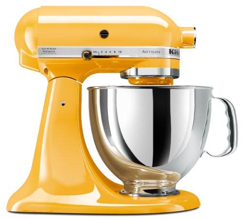 kitchenaid mixer majestic yellow - 1