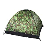 Ultralight 1 2 3 4 Person Camping Tent Windproof Camouflage Tent Camping Fishing
