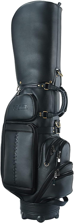Lightweight Standing Golf Bag Portable Leather Waterproof Max Superlatite 49% OFF