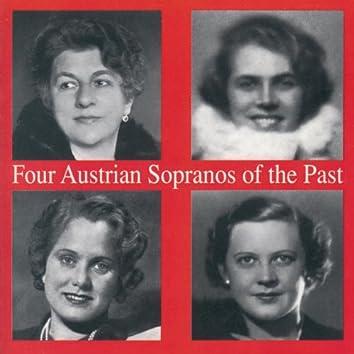 Four Austrian Sopranos of the Past