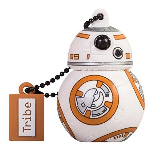 Star Wars Chiavetta USB 8 GB BB8 TFA - Memoria Flash Drive 2.0 Originale Disney, Tribe FD030404