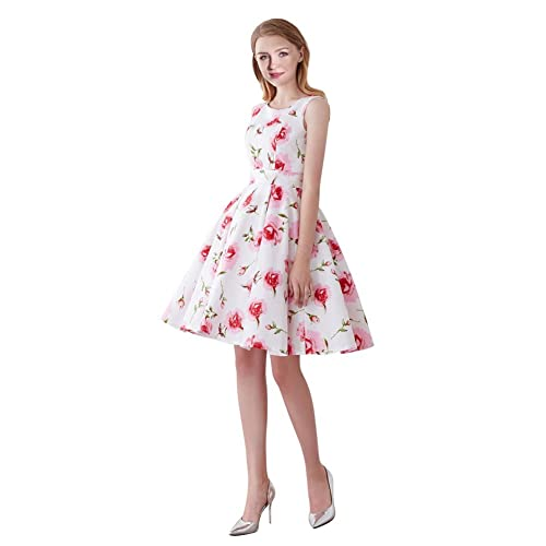 fd7a65b6909a FiftiesChic Women s 100% Cotton Sleeveless Polka Dot 50s Inspired Vintage  Rockabilly Party Dress