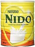 Nestlé Nido Leche en Polvo Entera - Crema Instantánea para Bebidas de Café y Té con Vitaminas y Minerales Añadidos y Sin Conservantes ni Colorantes - Pack de 6 Latas de 900 g