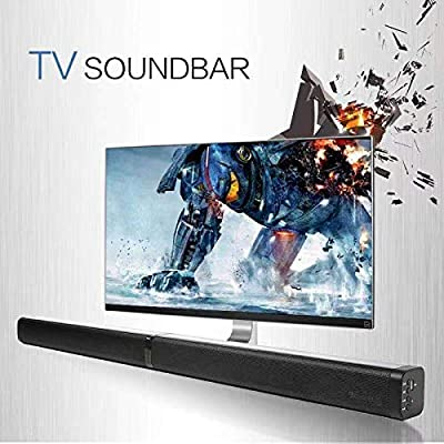 Bluetooth Sound Bar Portable Soundbar for Home ...