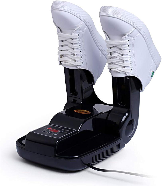 shoes Dryer Timing Telescopic Deodorizing Germicidal Uv Dryer (Black),Mechanicalstandardozone