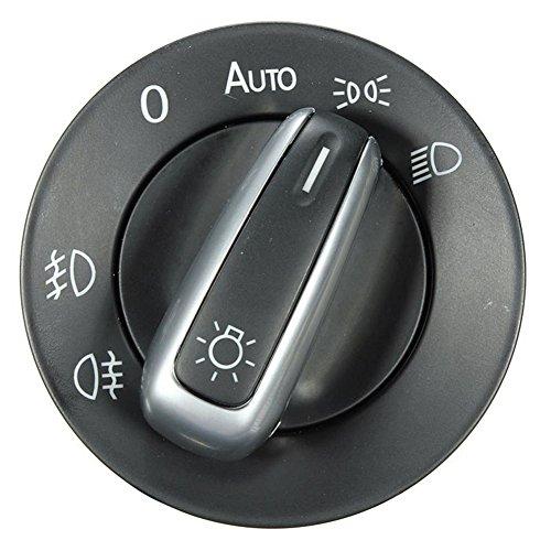 5ND941431B Interrupteur de phare antibrouillard chromé pour Golf Jetta MK5 MK6 GTI Passat B6 B7 CC Touran Tiguan