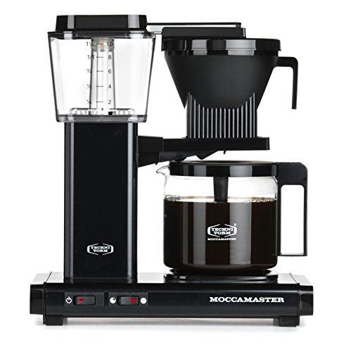 Moccamaster 59670 KBG 741 AO cafetière filtre, 1520 W, 1.25 liters, Noir