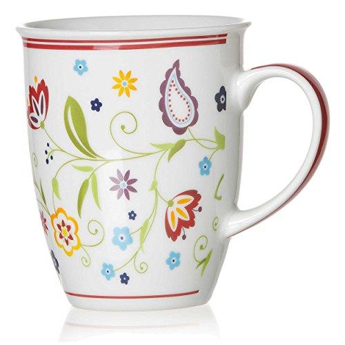Ritzenhoff & Breker Shanti Doppio Kaffeebecher, Kaffee Becher, Tasse, Geschirr, Porzellan, 320 ml, 18752