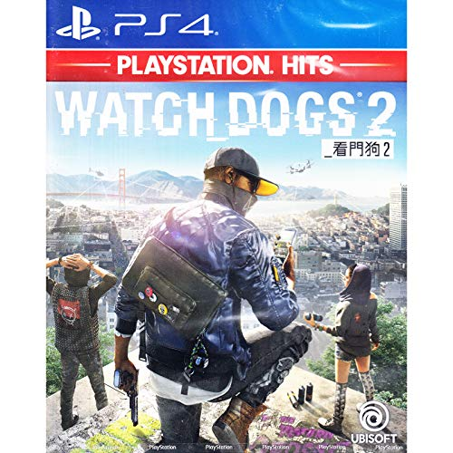 PS4 WATCH DOGS 2 PLAYSTATION HITS (ENGLISH & CHINESE SUBS) (ASIA)