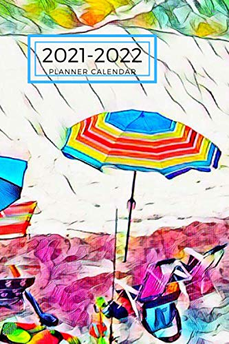 Beach Chair Umbrella Dated Calendar Planner 2 years To-Do Lists,Tasks, Notes Appointments: Small Cute Pocket/Purse Size at-A-Glance Schedule ... & Dec.2020 , 25 months Weekly Planner Book)