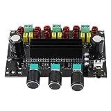 RUIZHI Placa amplificadora Digital, módulo de Audio TPA3116D2 Placa amplificadora Digital 2.1 Canales Módulo de Audio de Alta Potencia 2 X 80W + 100W