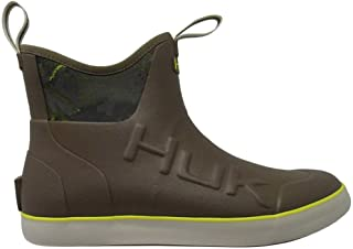 HUK Mens Rogue Rubber Water Wave Mid Boot, Adult