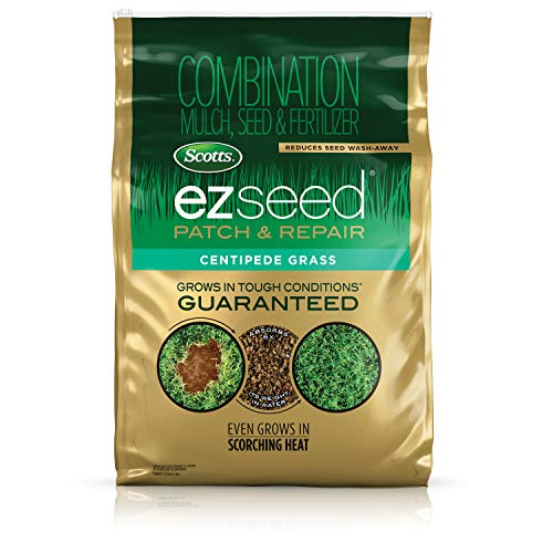 Scotts EZ Seed Patch and Repair Centipede Grass, 20 lb. - Combination Mulch, Seed, and Fertilizer -...