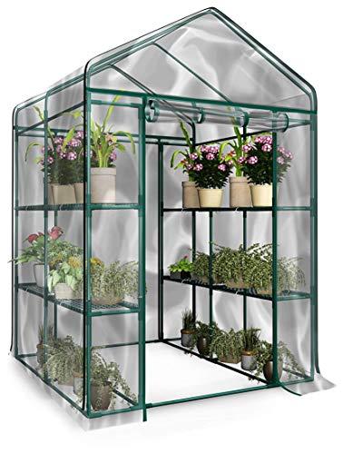 Home-Complete 514537FXW Walk-in Greenhouse-Indoor...