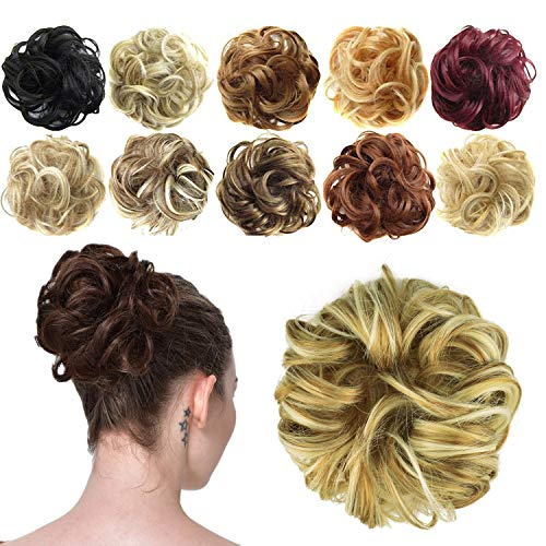 5 pezzi nero maglia elastica Bun retine per capelli di copertura per le donne