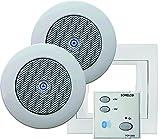 Sonelco PK2293-01 - Sistema de Sonido con Mando Amplificador con Dos Altavoces