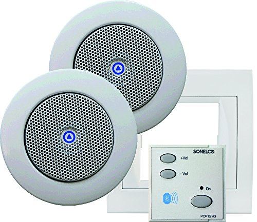 Sonelco PK2293-01 - Sistema de Sonido con Mando Amplificador con Dos...