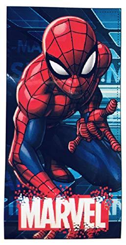 Spiderman Handtuch Mikrofaser Marvel 70 x 140 cm ET4214 blau