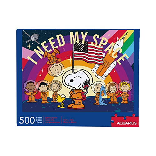 Peanuts Snoopy in Space 500 Piece Jigsaw Puzzle