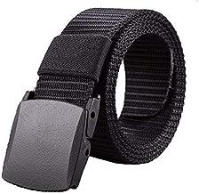 حزام بلاستيك اسود -رجال