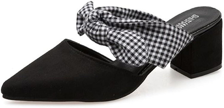 BeautyOriginal Women Bow Shallow Flat Heel Pointed Toe shoes