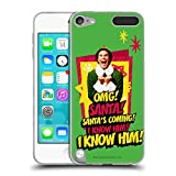 Official Elf Movie Buddy Graphics 1 Soft Gel Case Compatible for Apple iPod
