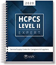 2020 HCPCS Level II Expert: Service/Supply Codes for Caregivers & Suppliers (AAPC)