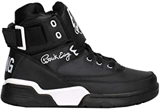 PATRICK EWING Athletics 33 HI Black Leather/White OG 1EW90014-011.