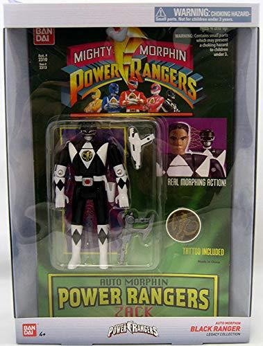 Power Rangers Mighty Morphin 6.5 Pouces Blanc Ranger Legacy Figure
