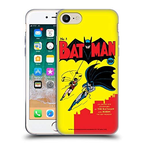 Head Case Designs Licenza Ufficiale Batman DC Comics Robin Numero 1 Copertine di Libri Comici Famosi Cover in Morbido Gel Compatibile con Apple iPhone 7 / iPhone 8 / iPhone SE 2020
