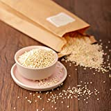 süssundclever.de® Bio Nonpareilles | Vollkorn | Zuckerperlen | 250 g | unbehandelt | plastikfrei und ökologisch-nachhaltig abgepackt