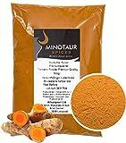 Minotaur Spices | cúrcuma molida, Polvo de cúrcuma Suave | 2 X 500g (1 kg)