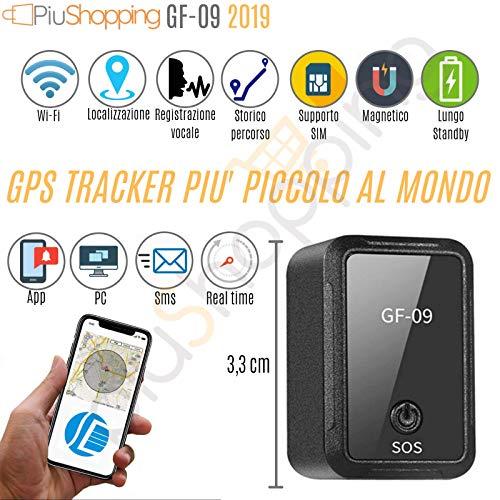 Rastreador de posición satélite GPS Coche/Moto espía con grabadora de Voz magnética App