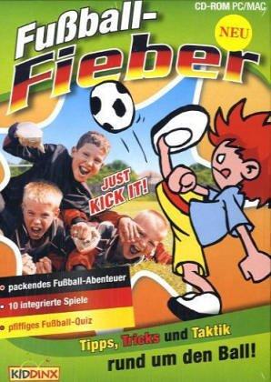 Fußballfieber, 1 CD - ROM Tipps, Tricks und Taktik rund um den Ball