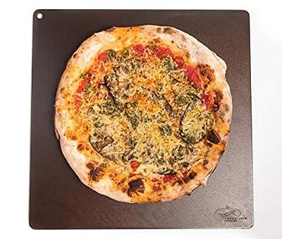 "Dough-Joe Pizza Steel Baking Sheet-The Emperor-15"" x 15"" x 1/2"""