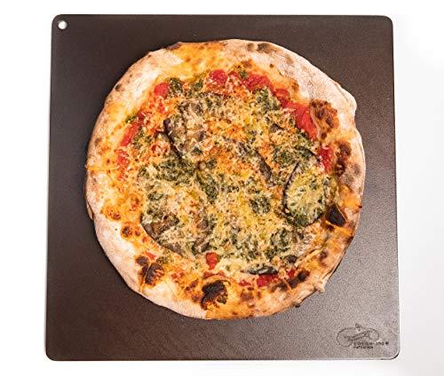 Dough-Joe Pizza Steel Baking Sheet The Samurai--15' x 15' x 1/4